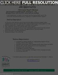 Child And Youth Worker Resume Examples by Youth Care Worker Resume Free Resume Example And Writing Download