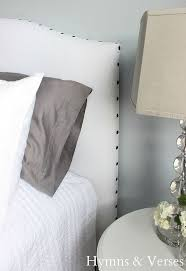 Diy Pillow Headboard Diy Upholstered Headboard With Nail Head Trim Hometalk