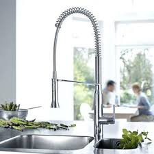 mitigeur de cuisine grohe grohe evier cuisine robinetterie cuisine grohe bauedge 23563000