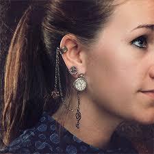 earring cuff albert s earring cuff stud thinkgeek