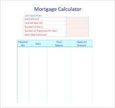 Loan Amortization Schedule Excel Template Amortization Schedule Template 7 Free Word Excel Pdf Format