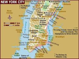 map of nyc map of new york city