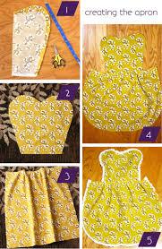 best 25 no sew apron ideas on pinterest kids apron pillow case