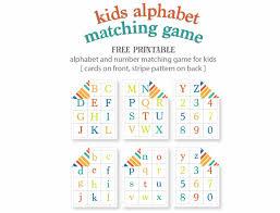kids alphabet matching game free printable live craft eat