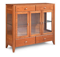 3 Door Display Cabinet Amish Display Cabinets Furniture Store Medford Oregon Rebelle Home