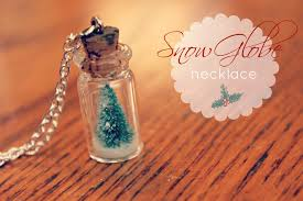 thanksgiving snow globe diy snow globe necklace the 36th avenue