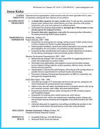 Call Center Job Description For Resume by Well Written Csr Resume To Get Applied Soon