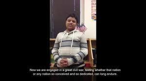 Alabama Institute For Deaf And Blind Gettysburg Address Alabama Institute For Deaf And Blind Youtube
