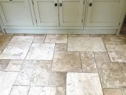 Travertine Kitchen Floor by Filling And Cleaning A Pitted Travertine Kitchen Floor Stone