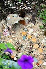 Diy Fairy Garden Ideas by Frugal Foodie Mama Diy Beach Themed Fairy Garden
