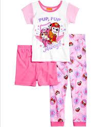 paw patrol 3 pc pajama set toddler 2t 5t pajamas