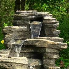 stone waterfall fountains hungrylikekevin com
