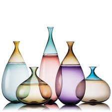 Modern Glass Vase Simpatico Vessels