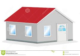 simple house vector illustration royalty free stock image image