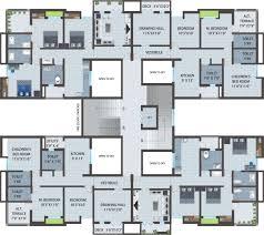 Floor Plan Of Apartment Apartment Building Designs Ideas Interior Design
