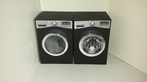 How To Hide Washer And Dryer by How To Make A Doll Washer U0026 Dryer With Foam Board Youtube