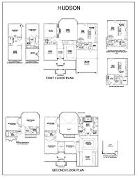 Floor Plan With Elevation by Hudson Knoxville Tn Homes