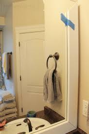 best 10 bathroom mirror redo ideas on pinterest redo mirror