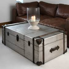 coffee tables italian marble coffee table coffee table trunk on