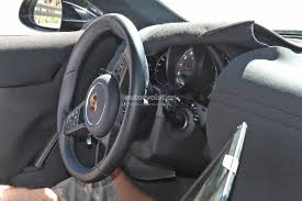 porsche steering wheel 2019 porsche 911 992 interior spied shows new steering wheel