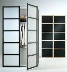 Armoire With Glass Doors Nightstand Dazzling Foto Ikea Wardrobes Custom Size Wardrobe
