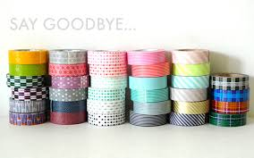 what is washi tape say goodbye to some of the original mt washi tape www cutetape com