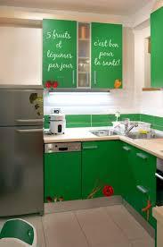 sticker meuble cuisine stickers muraux légumes