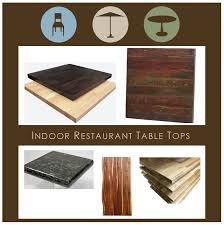 Restaurant Table Tops by Restaurant Table Tops 12 Questions To Ask When Buying