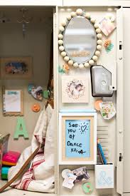 diy locker decorations mirror bulletin board flax u0026 twine