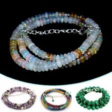 gemstone beaded necklace images 925 sterling silver jewelry wholesale fine silver jewelry jpg