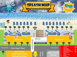 map of panama city splash resort map splash resort panama city florida condo