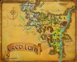 Lord Of The Rings World Map by A Remarkable Bow Quests Lord Of The Rings Online Zam