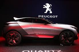 peugeot luxury car peugeot quartz concept is a 500 hp hybrid beast motor trend wot