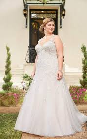 silver wedding dresses wedding dresses sparkling silver lace plus size bridal gown