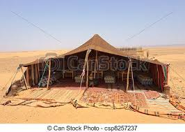 desert tent desert c the bedouins tent in the morocco picture