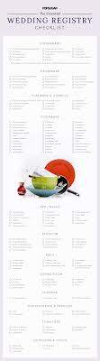 wedding registry idea your essential wedding registry checklist