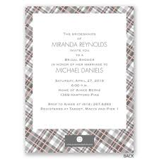 bridesmaids invite bridesmaids in plaid bridal shower invitation invitations