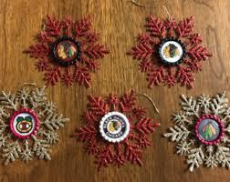 chicago blackhawks ornament etsy