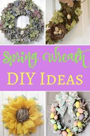 spring wreaths for front door spring wreath ideas for your front door the best of life best