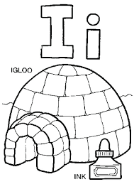 Igloo Coloring Page New Igloo Coloring Page For Your Download I Coloring Sheets
