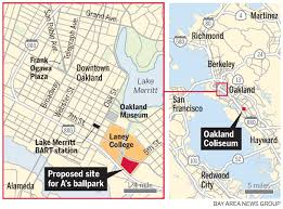 Oakland Crime Map Oakland A U0027s Ballpark Choice Is Peralta College Land
