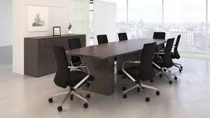 Office Boardroom Tables Contemporary Boardroom Table Wooden Rectangular Intermix