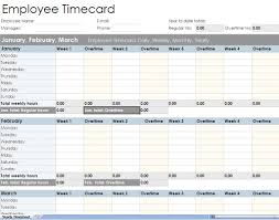 Excel Template For Timesheet Employee Timesheet Spreadsheet Form Excel Templates