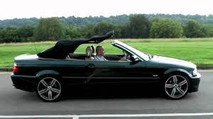 2001 bmw 3 series 323 ci auto green e46 convertible roof video