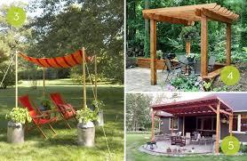 Diy Backyard Canopy Diy Backyard Canopy Ideas Do It Your Self