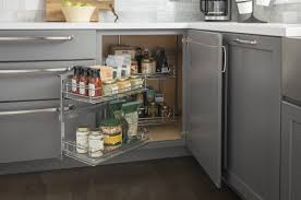 blind corner kitchen cabinet inserts hardware resources optimizes corner storage with new sliding