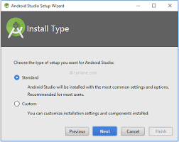 android studio install android studio installation for development environment tutlane