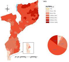 Mozambique Map Mozambique Link Malaria