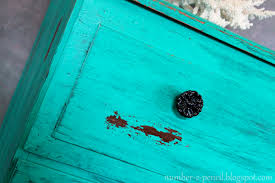 turquoise blue paint chippy turquoise dresser vintage makeover no 2 pencil