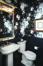 home designer pro layout black wainscoting grey walls dark floral wallpaper covers the upper